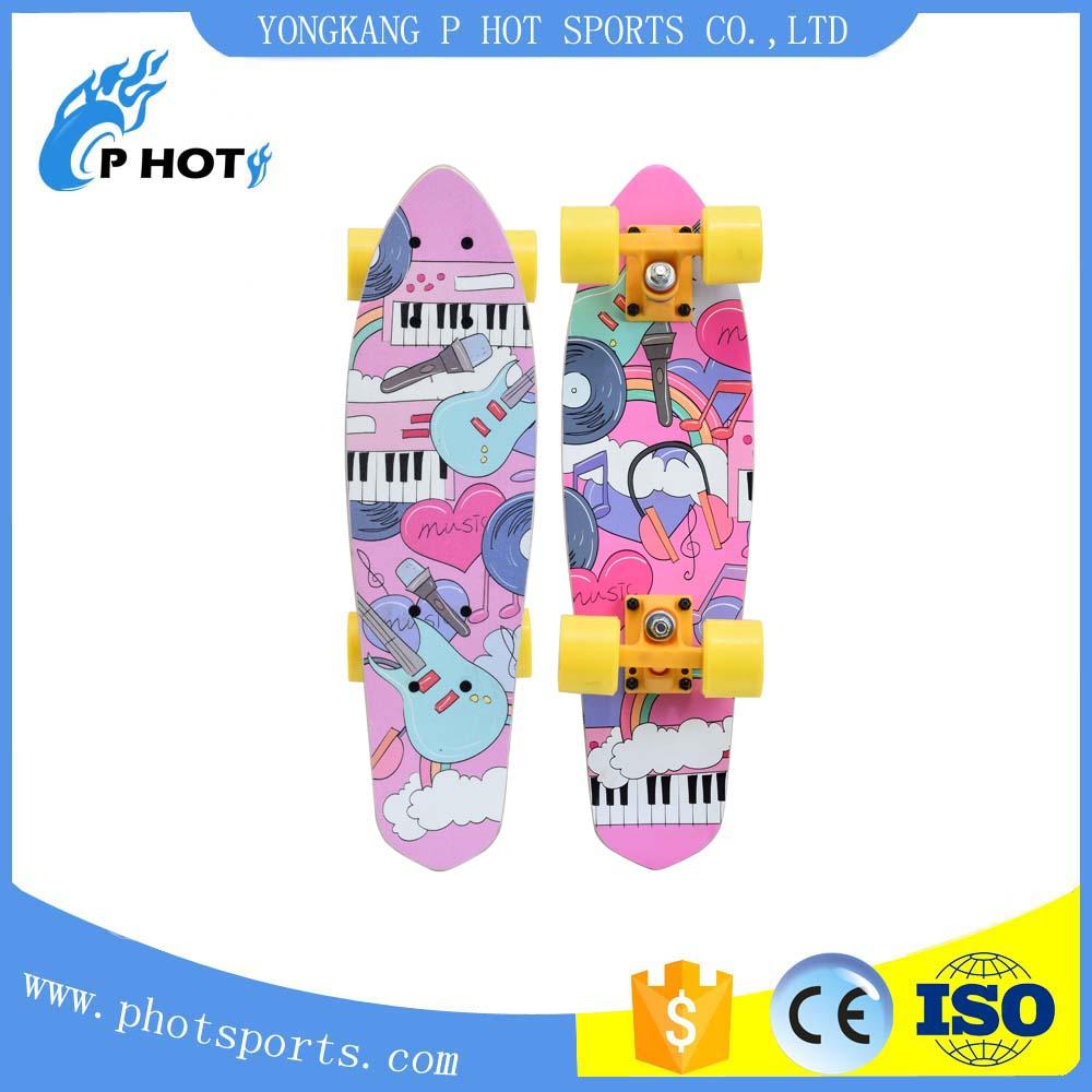 new type skateboard single kick chinese maple skateboard