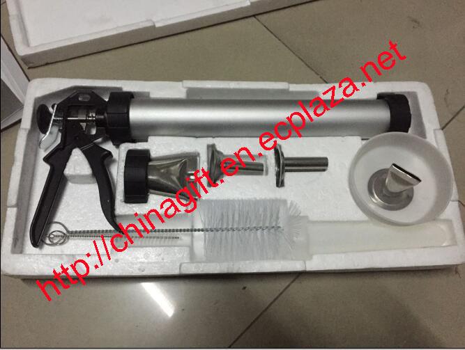 Homemade Beef Pork Aluminum Jerky Gun