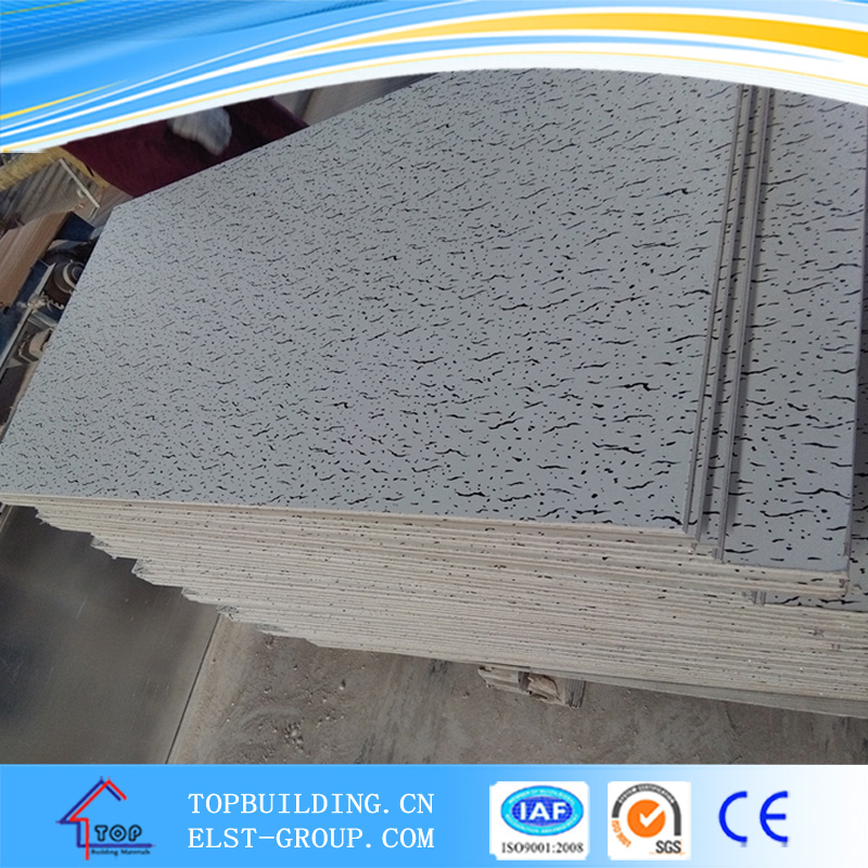 Vinyl coated ceiling tiles