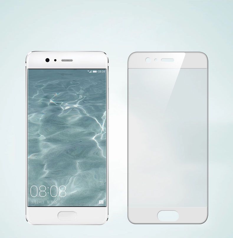 0.33mm 2.5D Silk Print Tempered Glass Screen Protector For Huawei P10