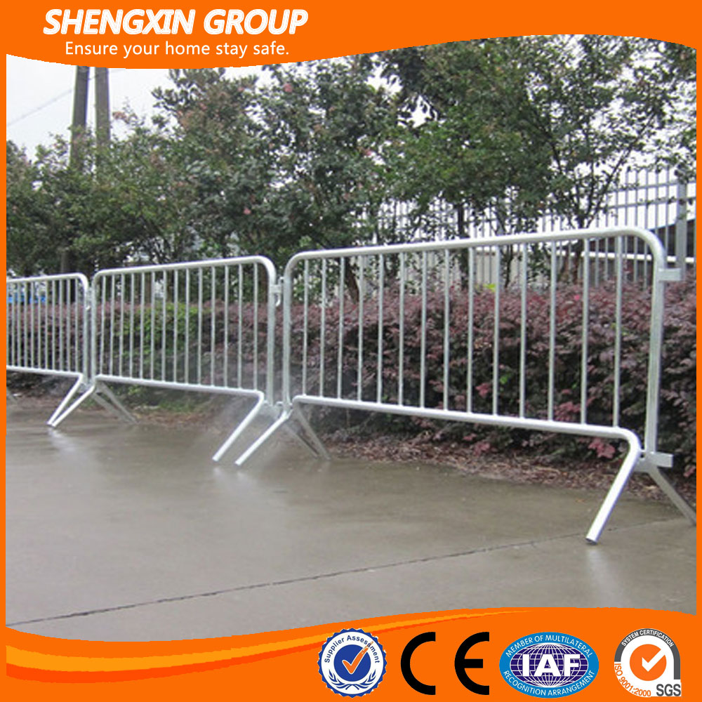 Anti Rust Hot Dip Galvanized Steel Crowd Control Barrier