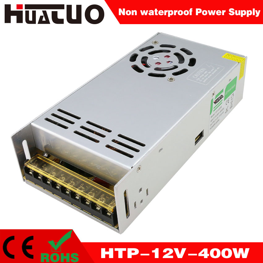 12V-400W constant voltage non waterproof LED power supply