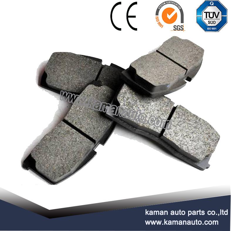 Semi metallic brake pads for Lada samara parts