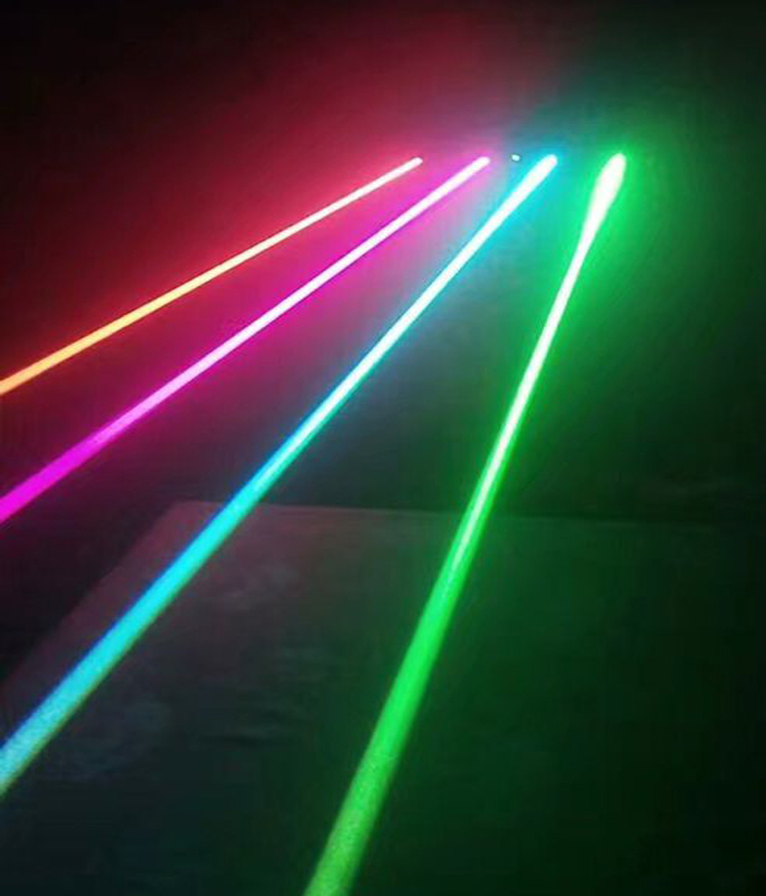 4 eyes moving head laser beam light