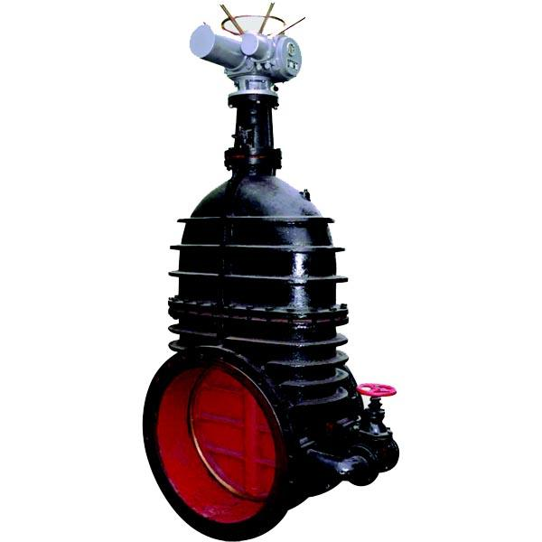Bigger size iron gate valve up to 60 inches