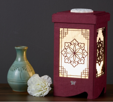 High quality LED lamp Lotus with traditional korean design and reasonable price