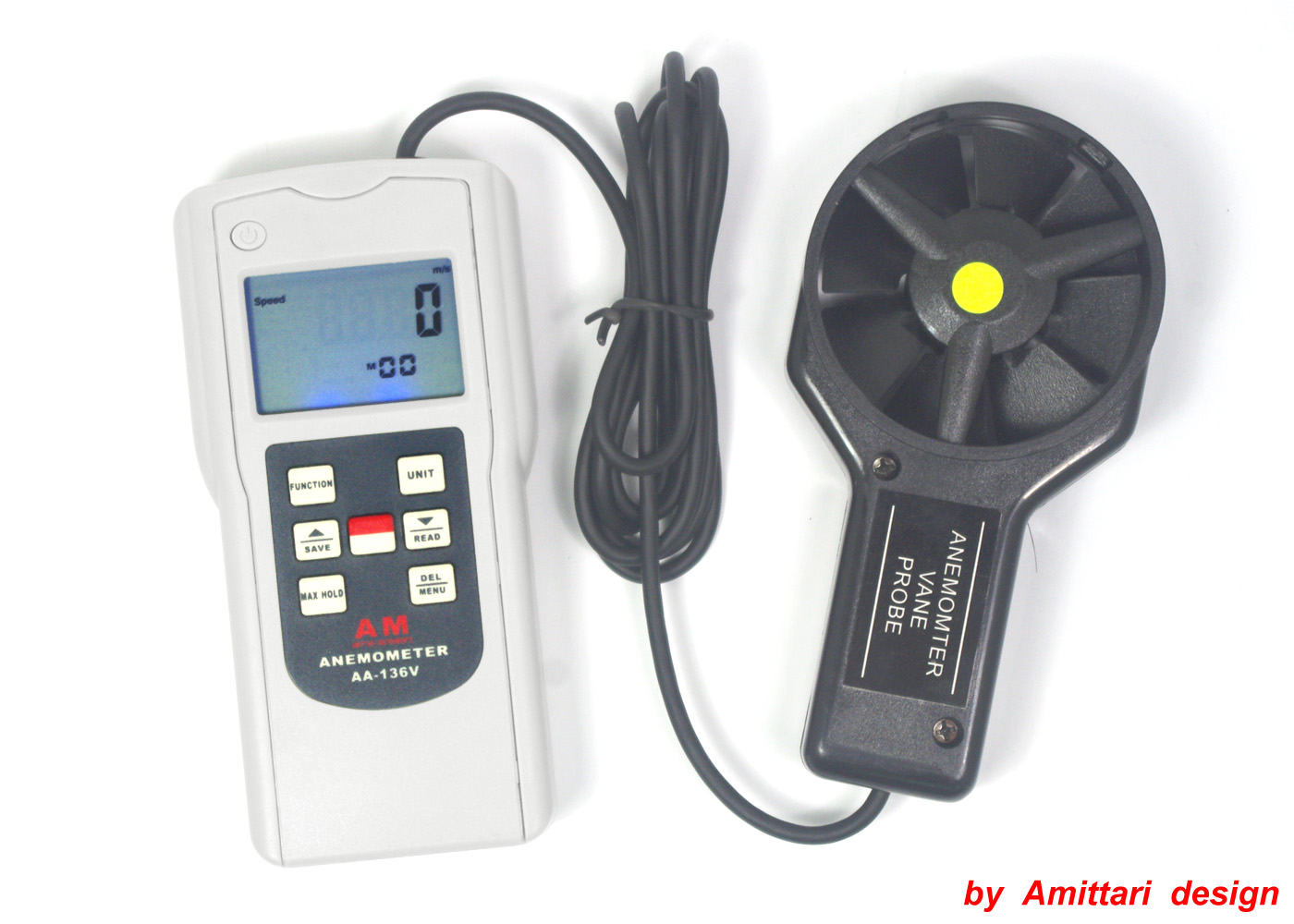 Multi Functional Anemometer AA-136V