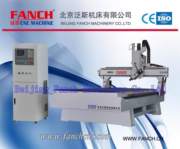 Curved Wood Four Axis Rotary Spindle Engraving Machine[FC-C48]