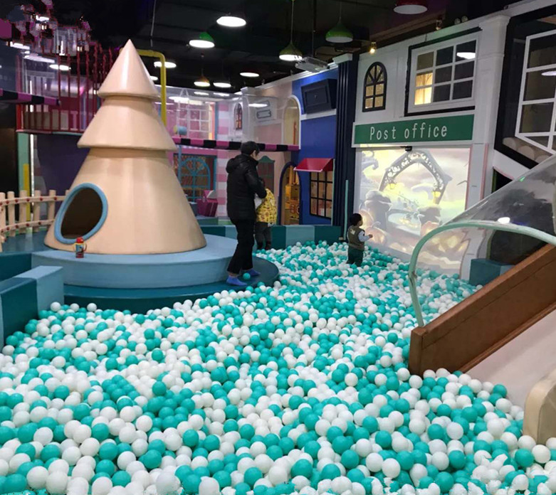 2020 Newest High-end Commercial Indoor playground set