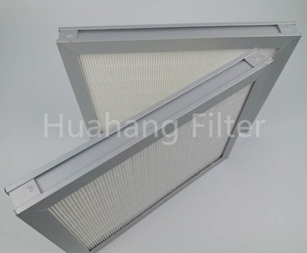 H13/H14 Minipleat Hepa Filter High Efficiency Minipleated Hepa Air Filter For Air Conditioning/Wood