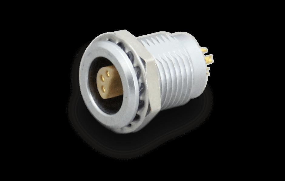 Coaxial circular connector substitute socket ERA-1S-306-CLL