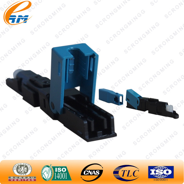 Supplier Pre-polished ferrule SC APC waterproof fiber optic connectors