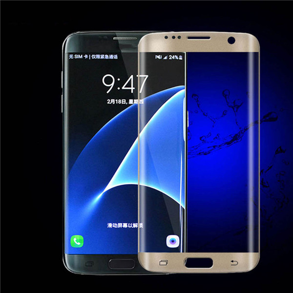 Full Curved 3D Tempered GLASS Screen Protector FOR Samsung Galaxy S8 S8 Plus