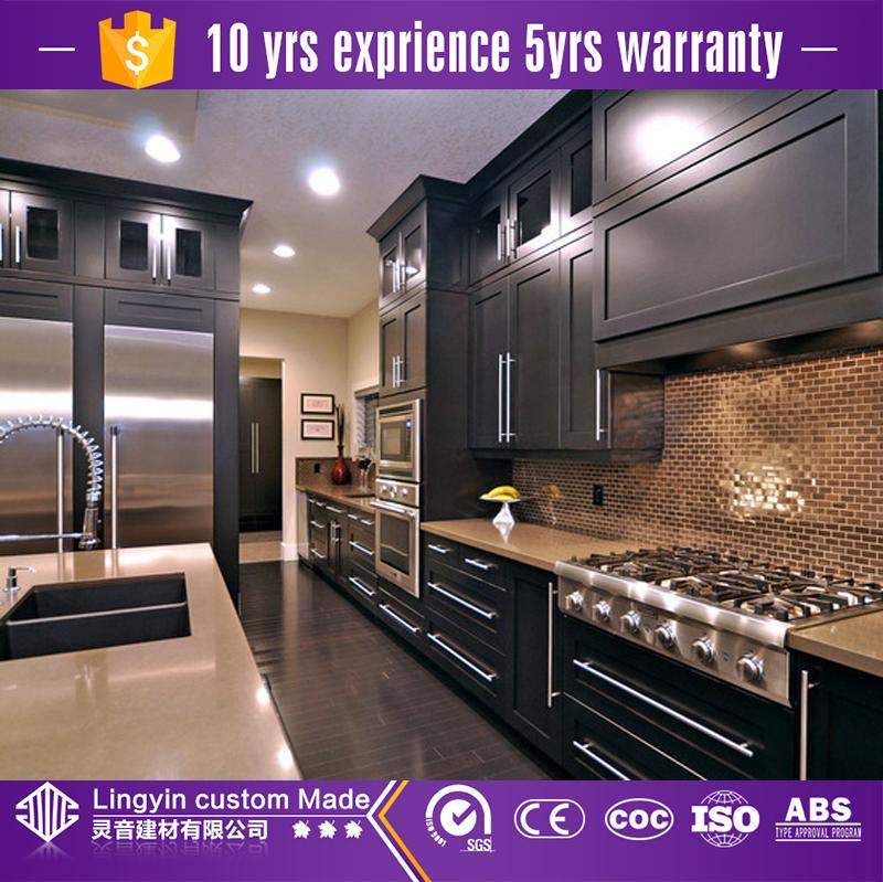 modern high gloss modular kitchen cabinets