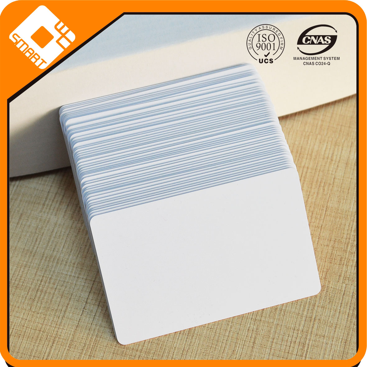 CR80 Standard Blank PVC Cards with printing
