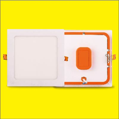 LED panel light recessed built-in driver slim flat light square isolated driver ceiling light
