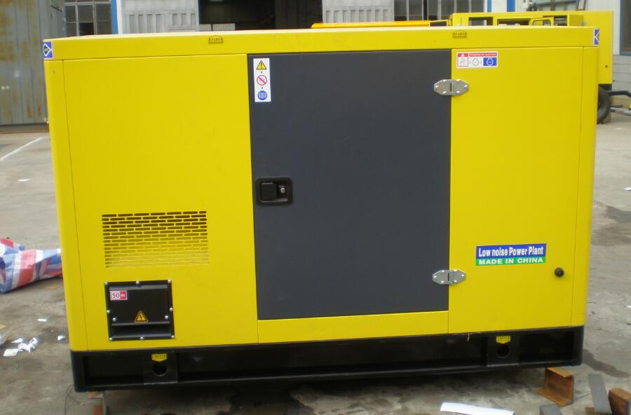 silent diesel generator from 20kw to 200kw in stock for sale with good price