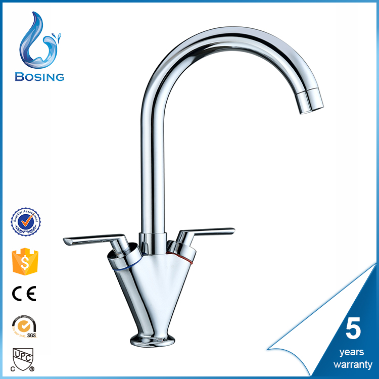 Exquisite colored sink boiling water tap with flexible hoses