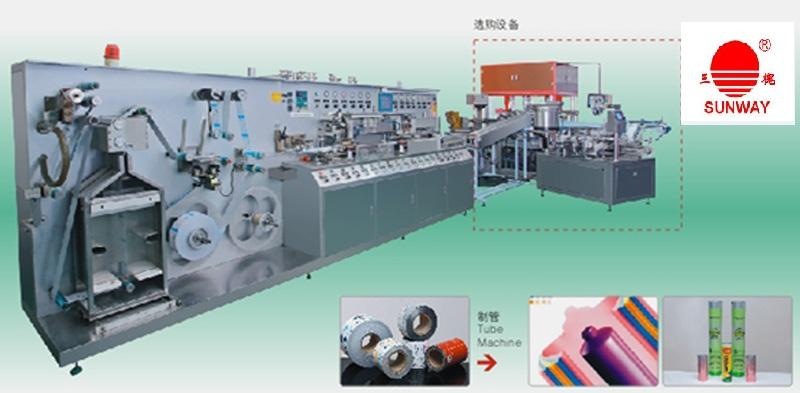 Toothpaste Tube/Cosmetic Tube Making Machine/Tube Production Line