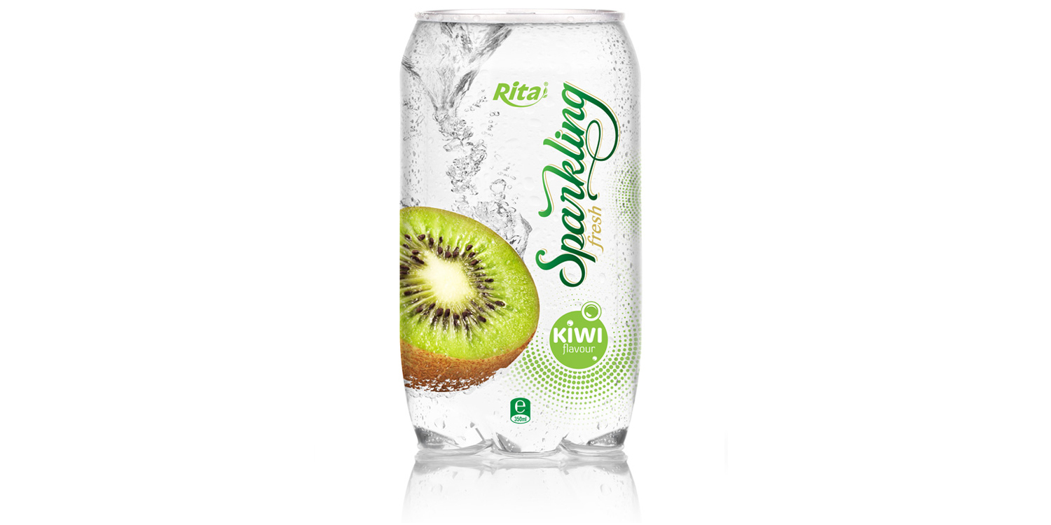 OEM beverage Sparking coconut water with pomegranate flavor