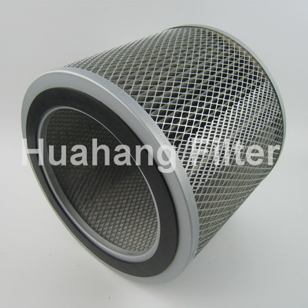 Polyester Media Filter Cartridge Type Cylindrical Dust Collector