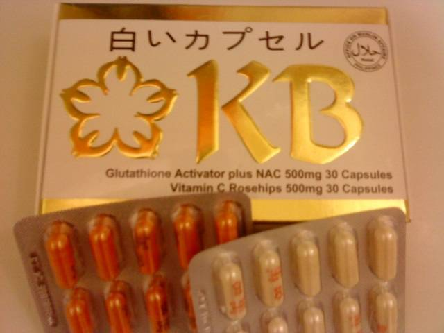 KB L- GLUTATHIONE ACTIVATOR with NAC & Rosehips Food Supplements