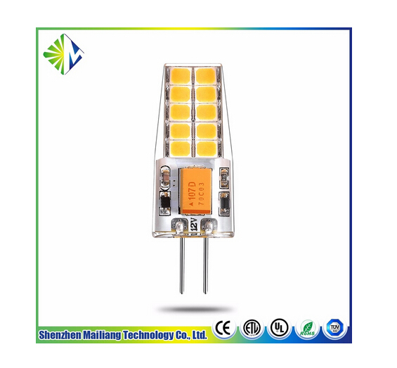 Factory directly sell AC/DC12v LED G4 bulb light with CE and Rohs approved
