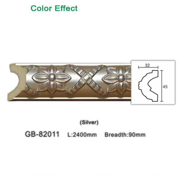Architectural panel molding polyurethane