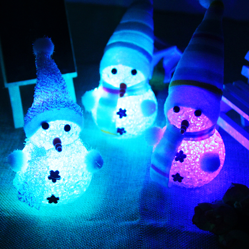Best Christmas LED Flashing Snowman Gifts Light Up Snowman