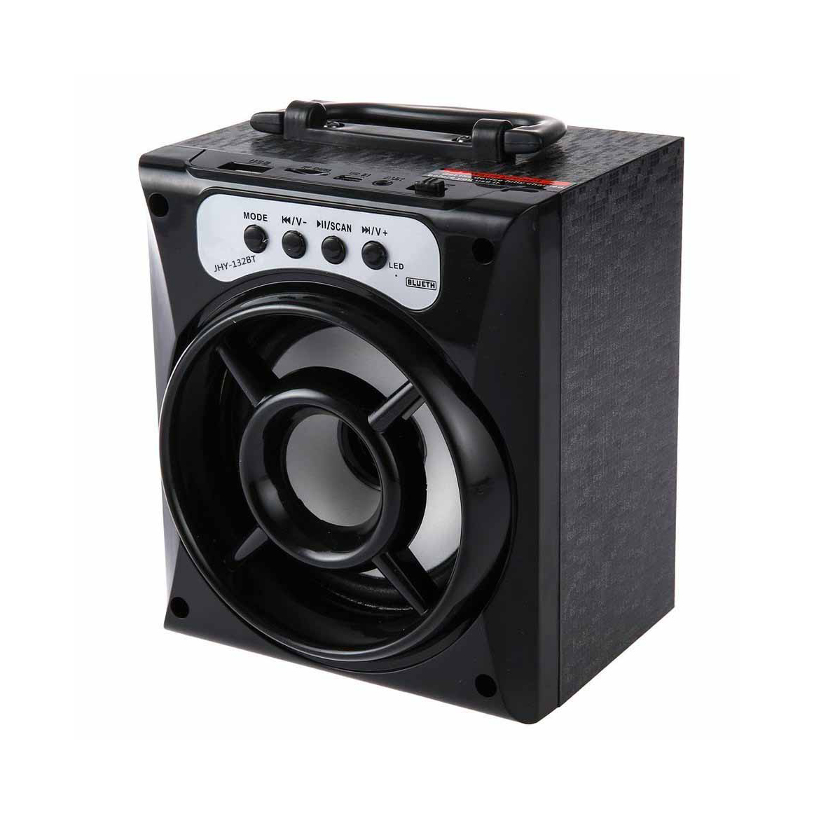 outdoor wireless portable mobile phone stereo speaker bluetooth mp3 with fm led