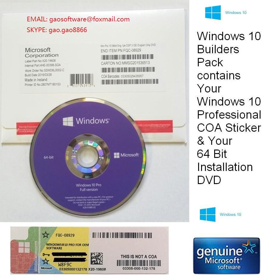 windows 10 pro professional key 100% online activation