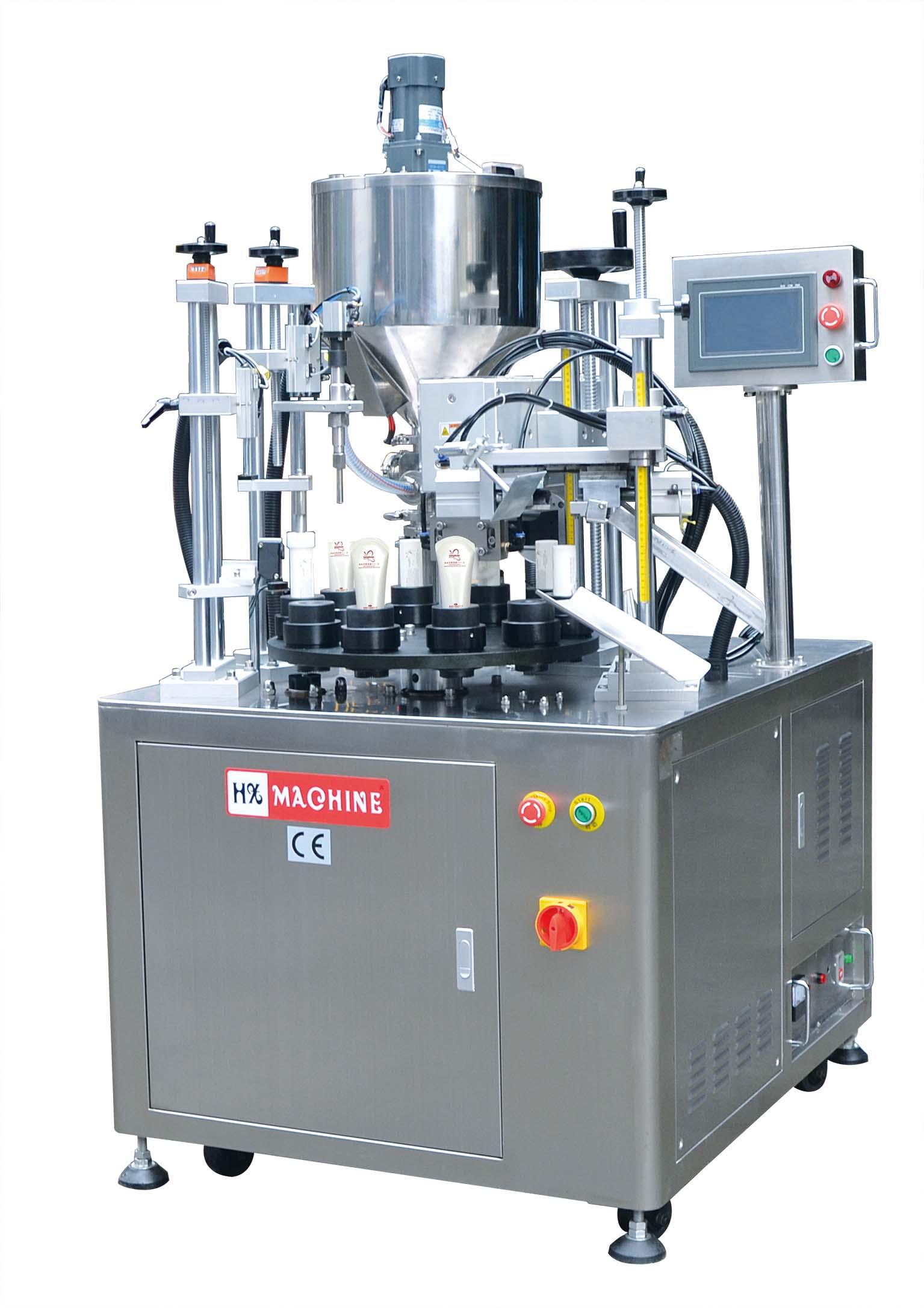 Automatic Ultrasonic Tube Filling Sealing Machine