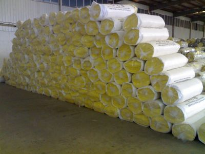 Heat Insulation Fireproof Fiber Glass Wool Blanket Used as Construction Material/Glass Rock Wool
