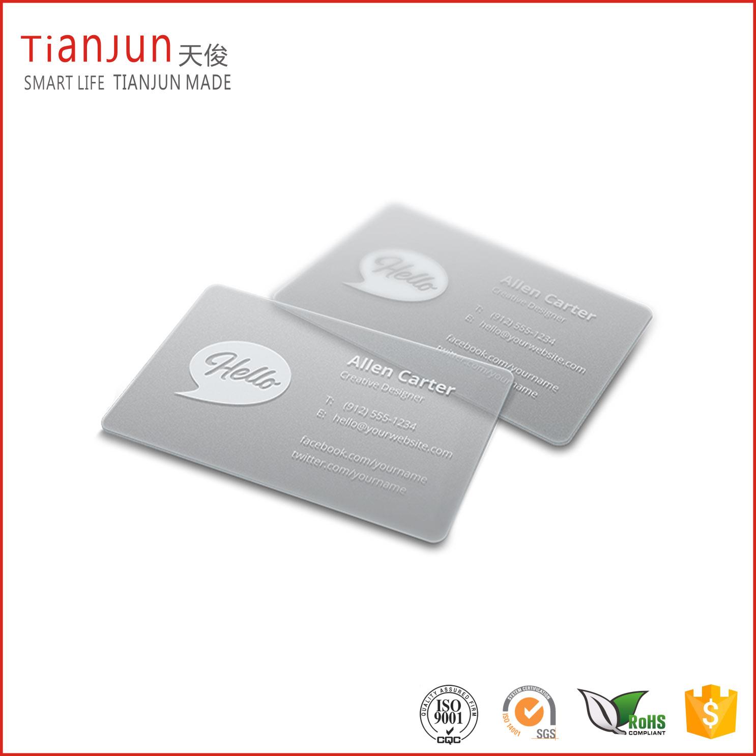 NTAG 213 Clear NFC Card