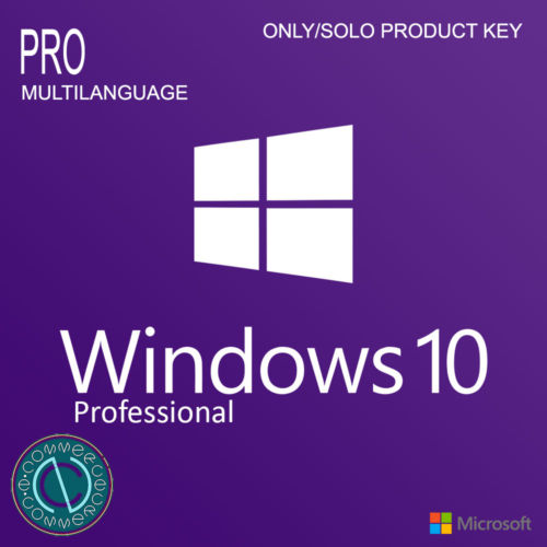 Microsoft COA Label Windows 10 Professional COA Sticker With OEM Key Online Activate