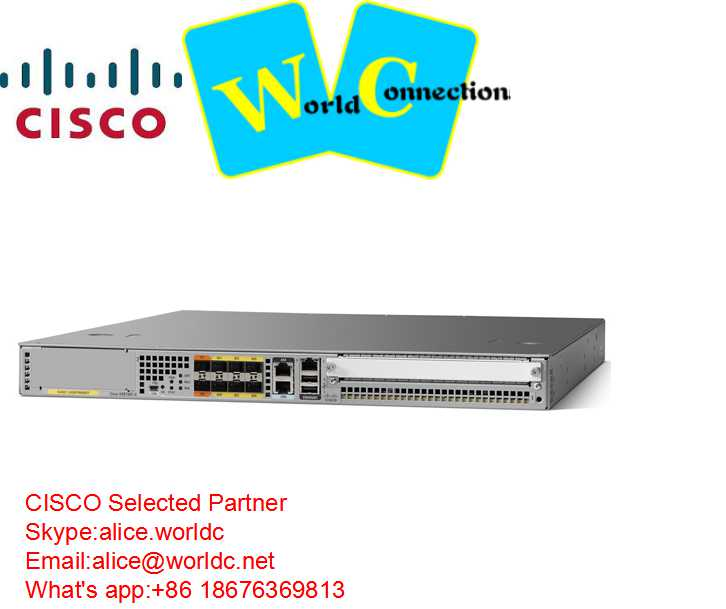 new CiscoASR 1000 Series Router ASR1001-X=