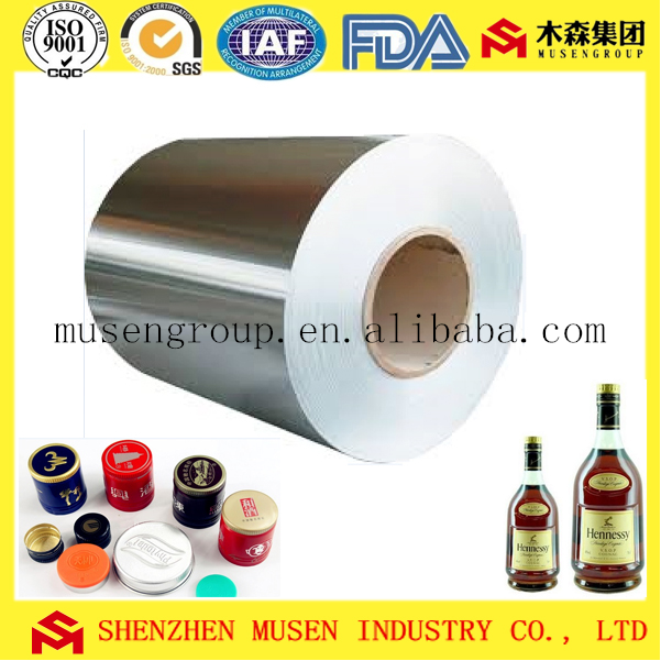 bright aluminum foil for food/medical flexible package