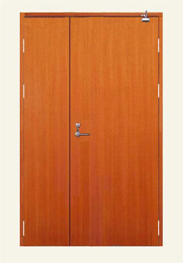 Wooden insulated fire-proof door. II FXFHM05