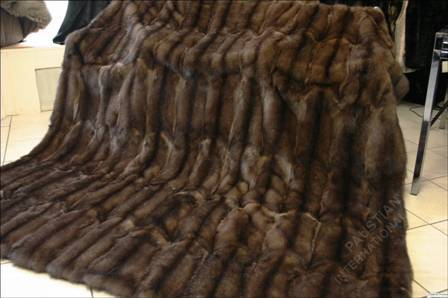 572 Sable Fur Blanket Made From Russian Sables Paustian