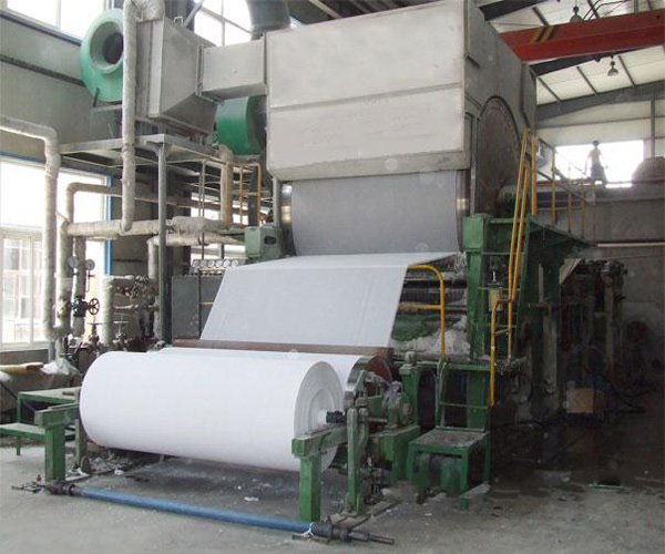 1880mm toilet tissue paper forming equipment