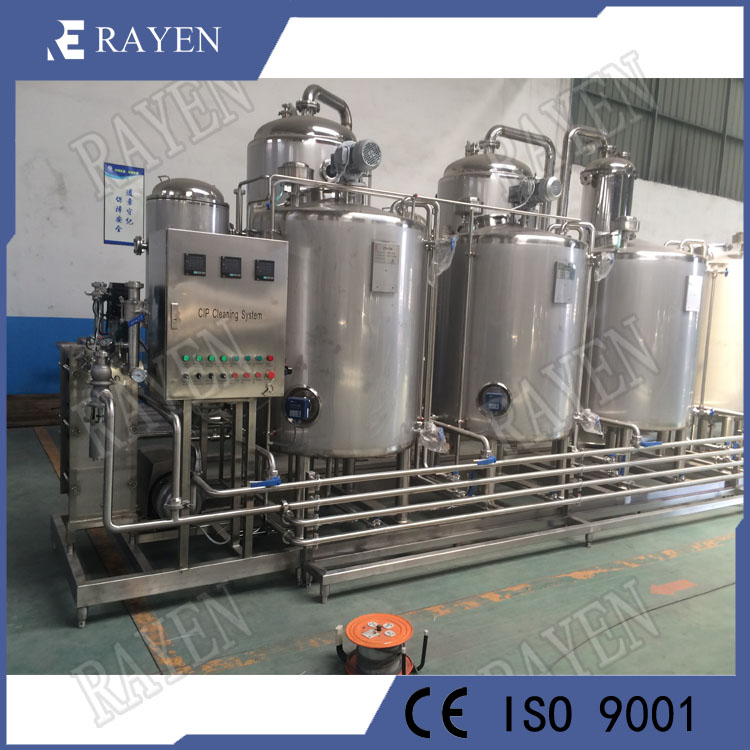 SUS304 Stainless Steel CIP Equipment CIP Cleaning System CIP Tank