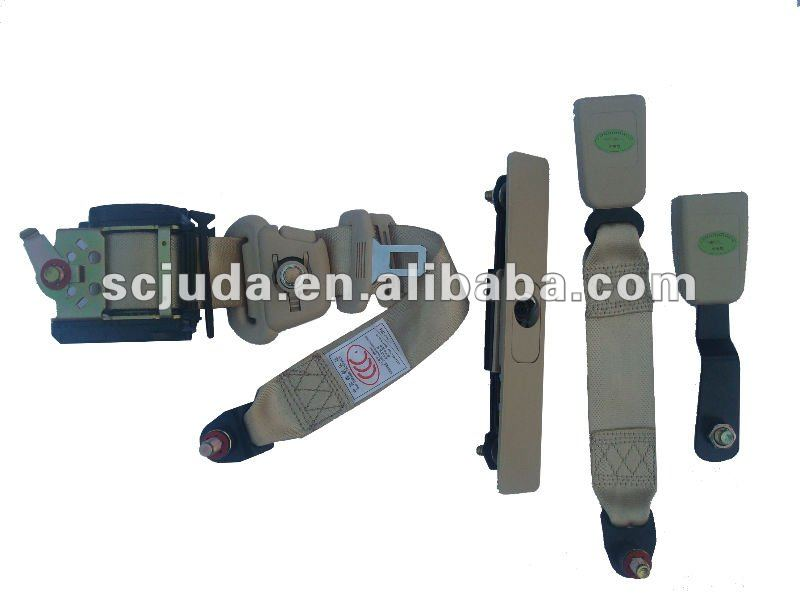 3 Point emergency lock adjuster ELR seat belt