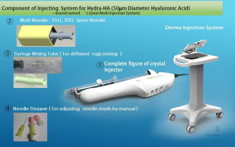Dermatology : Multi-Injector ( MesoTherapy-Gun )