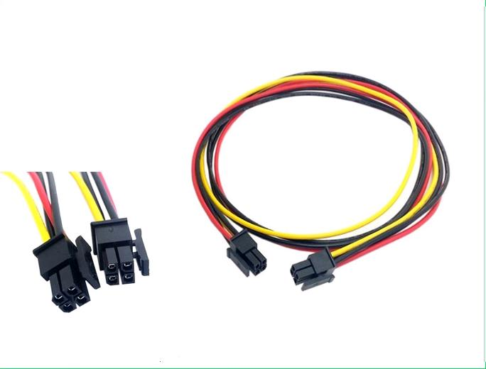 ATX Molex Micro Fit Connector 4Pin Male to male power cable
