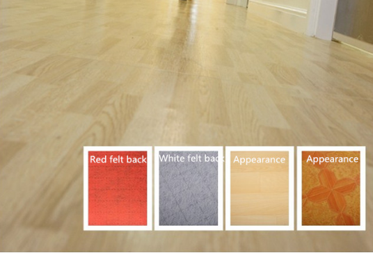 Felt-back Vinyl Sheet Flooring