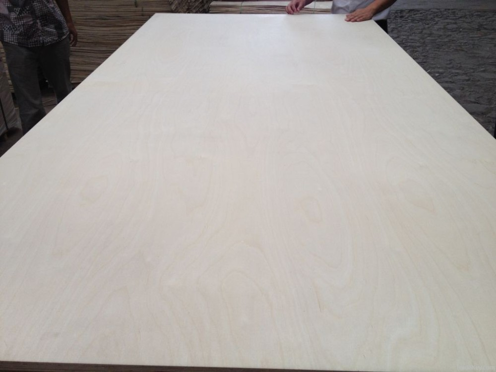 One time hot press semi-finished plywood