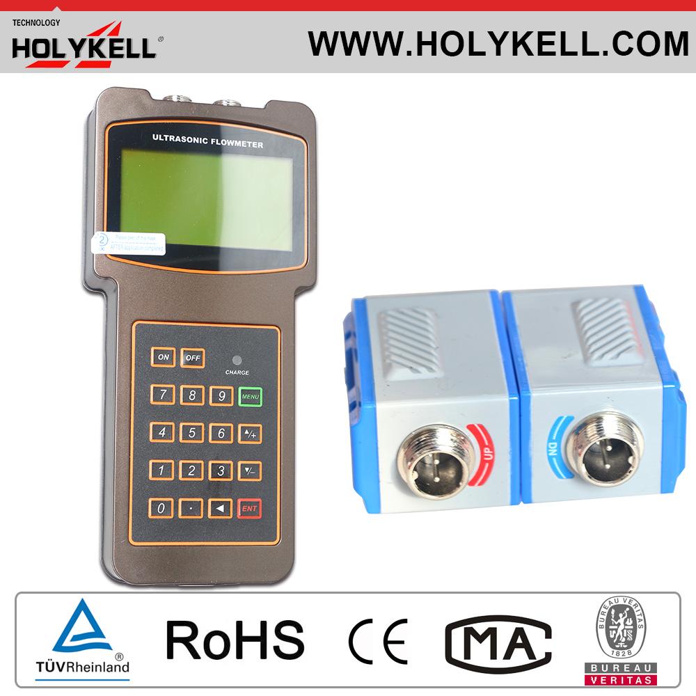 Acid Flowmeter Clamp On Portable Ultrasonic Flowmeter DN32~50mm