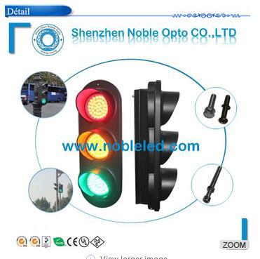European market 100mm traffic signals