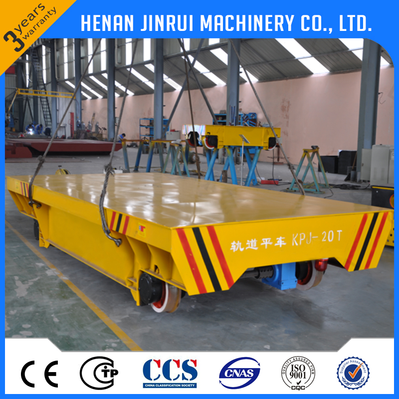 20 Ton Low Voltage Railway ElectricTransfer Cart