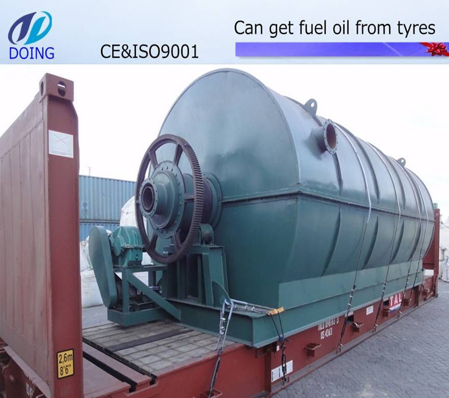 Hot sales recycling scrap tire to oil equipment xinxiang for Scrap tractor tires